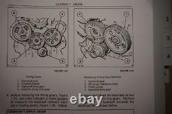 New Holland Ford 455D 555D 655D 675D backhoe loader workshop service manual book