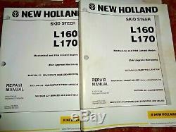 New Holland L160 L170 Skid Steer Loader Service Repair Shop Manual NH ORIGINAL