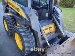 New Holland L175 Skid Steer Loader CAB HEAT AIR CONDITION 2 SPEED 2250 Hours