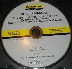 New Holland L213 L215 L218 L220 L225 L230 C232 C238 Loader Service Repair Manual