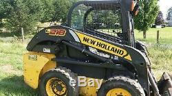 New Holland L218 Skidsteer Loader, 2011 non tier 4