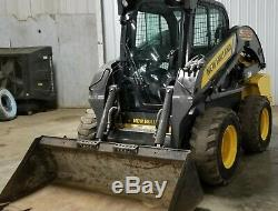 New Holland L225 Skid Steer bobcat Loader Cab
