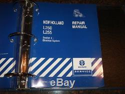 New Holland L250 L255 Skid Steer Loader Service Repair Shop & Maintenance Manual