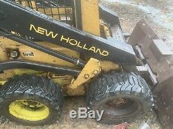 New Holland L455 Skid Steer Loader 28HP Kubota Diesel