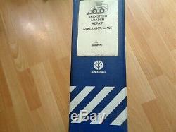 New Holland L465 LX465 LX485 skid steer loader factory repair & operators manual