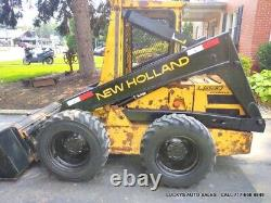 New Holland L553 Skid Steer Loader 38HP Kubota Diesel JUST SERVICED New Bucket