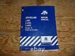 New Holland L565 LX565 LX665 Skid Steer Loader Electrical Service Repair Manual