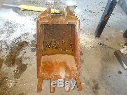 New Holland LB75 24 Digging Bucket NICE LB-75 Backhoe Loader Ford
