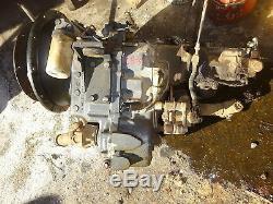 New Holland LB75 4WD Transmission Transaxle MFWD LB-75 Backhoe Loader Ford