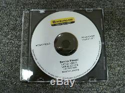 New Holland LB75. B LB90. B LB95. B Backhoe Loader Shop Service Repair Manual CD
