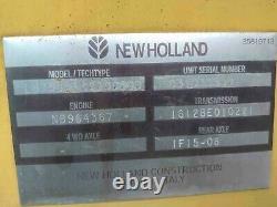 New Holland LB75 Backhoe Loader