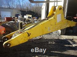New Holland LB75 Boom Frame Backhoe Arm LB-75 Backhoe Loader Ford