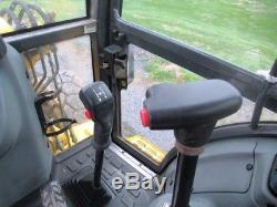 New Holland LB90B Tractor Loader Backhoe, 4x4, Cab, Ext Hoe, Only 6489 Hours