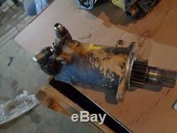 New Holland LS170 LX665 LS160 LX565 Skid Steer Loader Drive Motor Left #3948