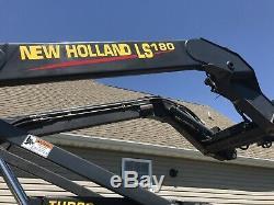 New Holland LS180 Skid Steer Loader. 67HP Standard Flow. Runs Great 2400 Hrs