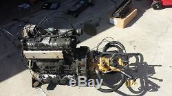 New Holland LX665 skidsteer tractor skid steer bobcat wheel loader diesel engine