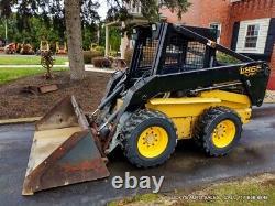 New Holland LX865 Skid Steer Loader 60HP TURBO DIESEL 5014Hrs NEW Wheels & Tires