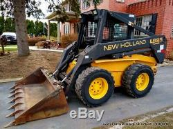New Holland LX885 Skid Steer Loader FULLY SERVICED 63HP TURBO