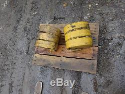 New Holland LX885 WEIGHT SET Counterweights LX865 L865 Skid Steer Loader
