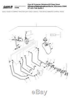 New Holland Loader Joystick Kit 2 Spool Remote Valve 716390001