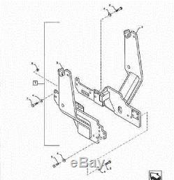 New Holland Loader Mount Brackets for Boomer 41 & 47 ROPS units #47558103