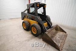 New Holland Ls170 Skid Steer Wheel Loader, 50 Hp, 5540 Lbs Operational Weight