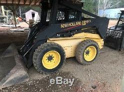 New Holland Ls190 Diesel Skid Steer Loader Skidloader 83 HP