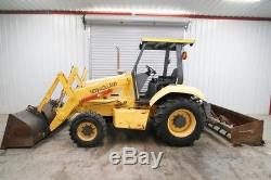 New Holland Lv80 4wd Skip Loader Tractor, Gannon Box Blade, Rippers, 1727 Hrs