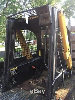 New Holland Super Boom LX 565 loader ROPS complete with arms