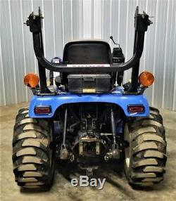 New Holland T1110 Diesel Tractor With Loader ie- Boomer 1030 TC26DA