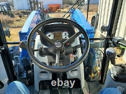 New Holland T4.75 Cab Tractor with Front End Loader