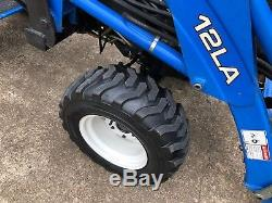 New Holland TC18 Compact Tractor with 12LA Loader 4 Wheel Drive Diesel