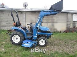 New Holland Tc21d Compact Tractor With