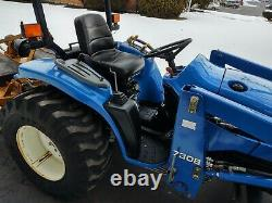 New Holland TC29D Tractor 7308 Loader DIESEL 29HP 4WD HST 872Hrs JUST SERVICED
