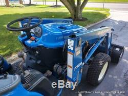 New Holland TC30 Tractor 7308 Loader 4WD Diesel 30HP Mid PTO Rear Hydraulics