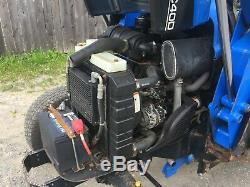 New Holland TC40D Compact Tractor, Hydro, Loader, 4x4, Cab