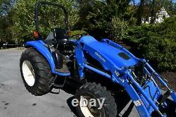New Holland TC40D Diesel Tractor & Loader