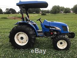 New Holland TC55DA Tractor 4wd with Loader