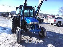 New Holland TN 75 Tractor & Loader CAN SHIP @ $1.85 loaded mile