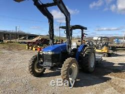 New Holland TN65 4 Wheel Drive With Loader