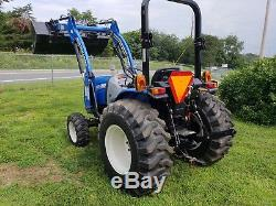 New Holland Workmaster 33 Tractor 4x4 Loader 2 Hours