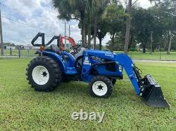 New Holland Workmaster 33 Tractor Loader