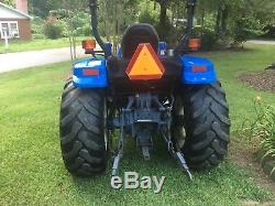 New Holland tractor Tc40d 4x4 2spd hydro 40 hp diesel with loader