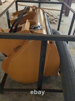 New Self Loading Skid Steer Loader Cement concrete mixer Bucket
