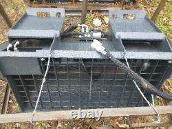 New Wolverine Self Loading Skid Steer Loader Cement concrete mixer Bucket bobcat