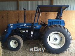 NewHolland 4630 Farm Tractor. With Front End Loader. Fancy As They Come