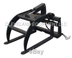 PALLET FORK GRAPPLE SKID STEER LOADER TRACTOR ATTACHMENT New Holland