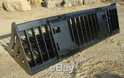 RVM UNIVERSAL Rock Skeleton Bucket 78 for ANY Skid-Steer Loader Quick-Attach