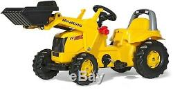 Rolly Toys New Holland Tractor with Front Loader Pedal ride-on (025053)