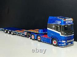 Scania R highline CR20H 6x2 low loader Gustavsson WSI truck models 01-3050